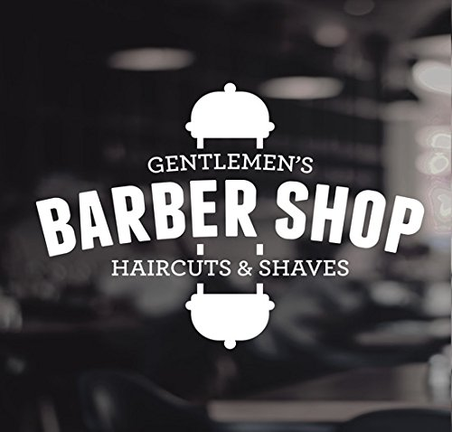 Barberos Pole signo de vinilo de corte de pelo afeita Gentlemen 's...