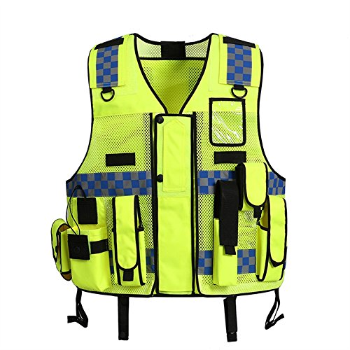 Liveinu High Visibility Vest Heavy Duty Safety Vest Breathable with...