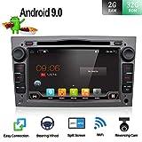 "Android 9.0 Double Din Car Stereo Head Unit Octa Core 7"" GPS Car DVD Player For Opel Vauxhall Antara Astra Zafira Corsa Meriva Sat Nav Bluetooth Support GPS WiFi DAB Android Auto Free Camera & Canbus"