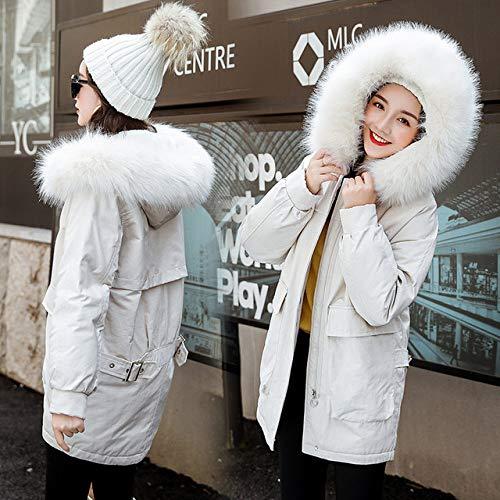 WFSDKN Damesparka 2019 Nieuwe parka's Vrouwen winterjas verdikking katoen winterjas mode vrouwen outwear parka voor vrouwen winter