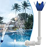 Swimming-Pool Waterfall Fountain Fun Water Sprinkler Above In-ground Pool Spray Pond Decoration