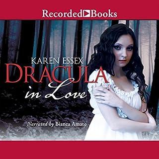 Dracula in Love audiobook cover art