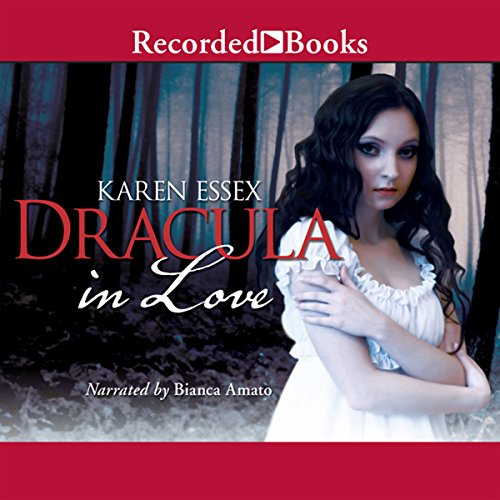 Dracula in Love audiobook cover art