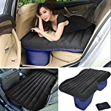 LABABE Auto Car Inflatable Air Mattress Bed for Back Seat of Cars SUV's and Mid-size Trucks Outdoor Travel Camping Universal(Gray Flocking)