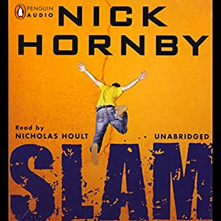 Slam audiobook cover art