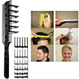 CombPal Scissor Clipper Over Comb Hair Cutting Tool Barber Haircutting...