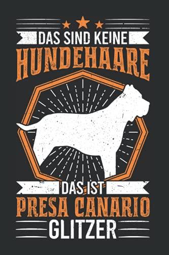 Presa Canario Tagesplaner: Presa Canario Glitzer Dogo Canario Geschenk / Kalender 2022...