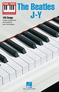 Piano Chord Songbook: The Beatles J-Y
