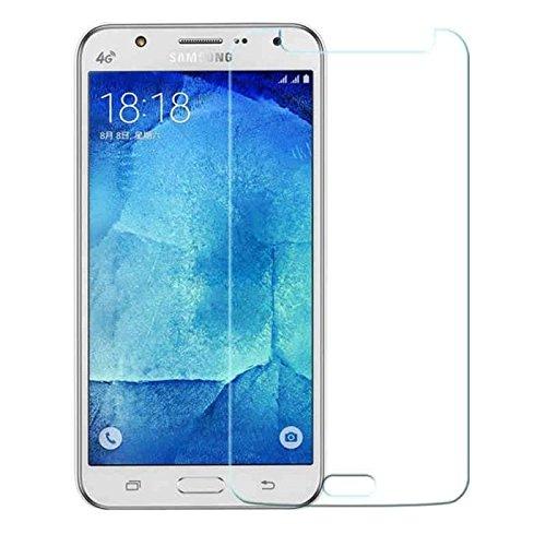 Pirabad - Protector de pantalla de cristal templado 9H para Samsung Galaxy J3 (ultrarresistente a las caídas 9H y a los arañazos