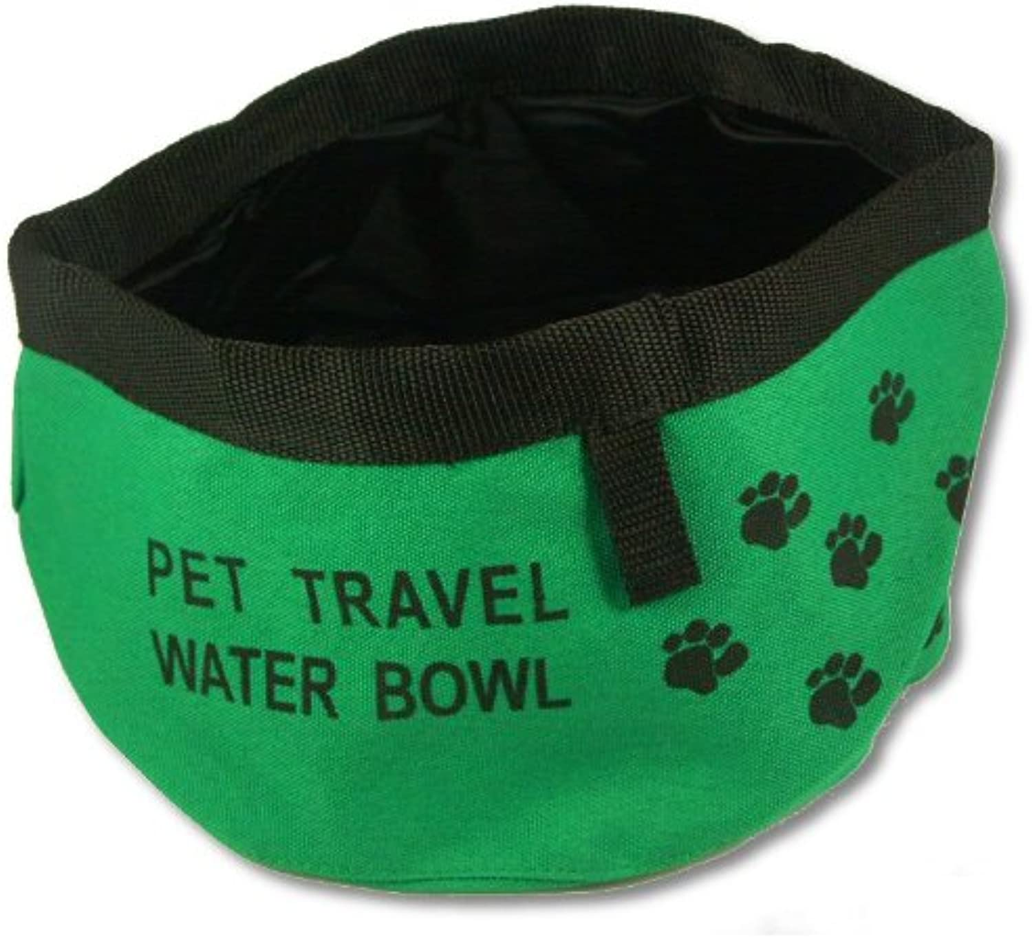 Collapsible Dog Bowl, Small  Green