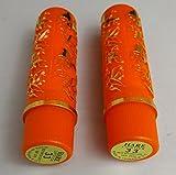 2 pintalabios magico hare original con pegatina - naranja - taiwan - claidad extra