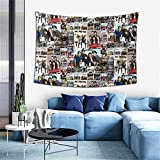 One Direction Tapestry Wall Hanging Art Home Decoration for Ceiling Living Room Dorm Bedroom Kitchen 60x41 Inches