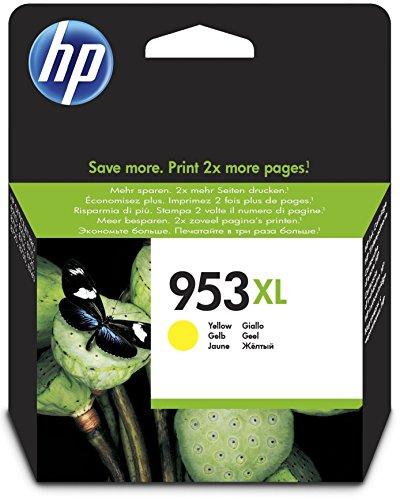 HP 953XL Gelb Original Druckerpatrone mit hoher Reichweite für HP Officejet Pro 8210, 8710, 8720, 8730, 8740