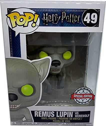 Funko POP! Harry Potter: Remus Lupin como hombre lobo Exclusivo