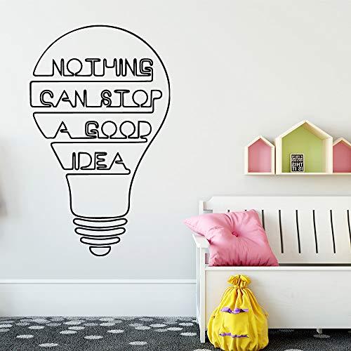 Ajcwhml Buena Idea Pegatinas Decorativas habitación Infantil decoración del hogar Impermeable decoración...