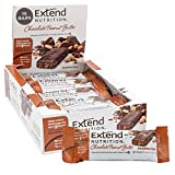 Extend Bar High Protein, Sugar Free and 1 Net Carb Snack, 1.41 Ounce Bars Chocolate Peanut Butter Chocolate Peanut Butter 15 Count