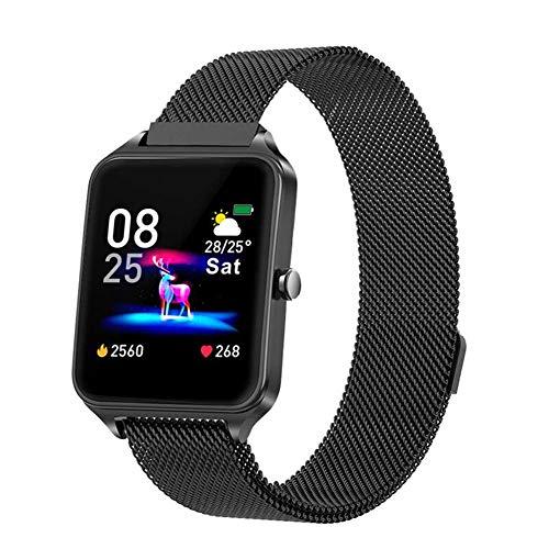 TIANYOU B20 Smart Watch, Gps Sport Tracker 1.4'Ips Color Full Touch Pantalla Tiempo Previsión Tiempo Tracker Bluetooth Watch, para Ios Android Moda/D