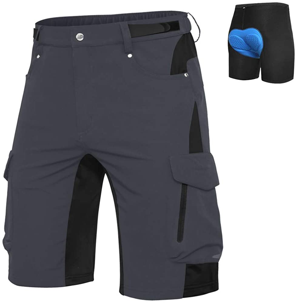 Ally Mens Mountain Bike Shorts Cycling B Cash OFFicial store special price MTB Baggy Padded