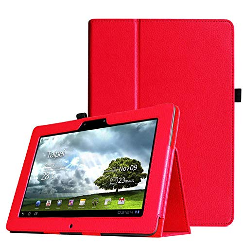 Für Asus Memo Pad Fhd 10 ME301T ME302 ME302C ME302KL 10,1-Zoll-Tablet-Lederhülle-rot
