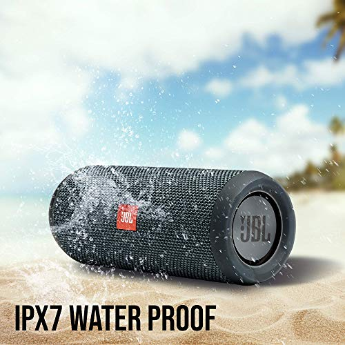 JBL Flip Essential - Enceinte Bluetooth portable robuste - Étanche IPX7 pour piscine & plage - Autonomie 10 hrs - Qualité audio JBL - Noir