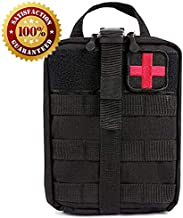 Tactical Rip-Away Medical Blowout,Outdoor Wear-Resistant Oxford Cloth First Aid Pouch