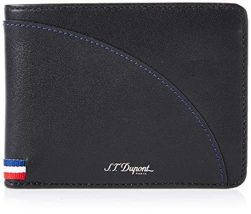 S.T. Dupont Defi Millenium 8CC Billfold Portemonnee - Blauw