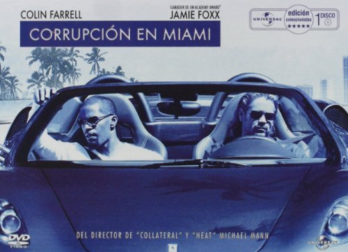 Corrupción en Miami (Edición caja metálica) [DVD]