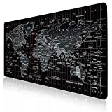 JIALONG Alfombrilla Raton Multifuncional Grande Gaming Mouse Pad XXL 900x400mm,...