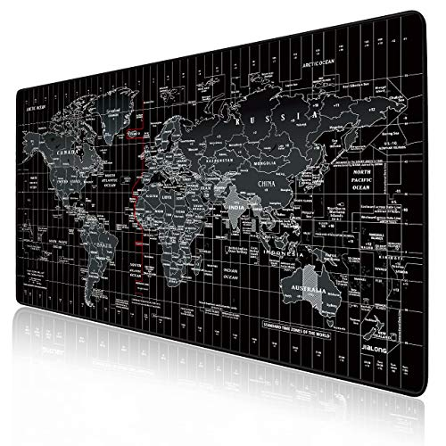 JIALONG Alfombrilla Raton Multifuncional Grande Gaming Mouse Pad XXL 900x400mm, Lavable,...