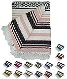Traditional Yoga Blanket. (Pink)