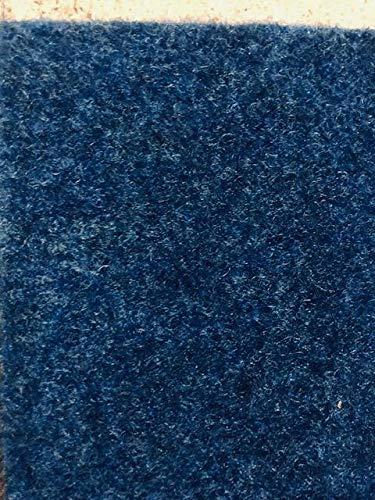 Internethandel Pfordt Kunstrasen blau (5€/m²) mit Noppen 400 cm breite (350 x 400 cm)
