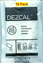 Urnex Dezcal Activated Scale Remover Powder, 28g (1 oz.), 10 Pack
