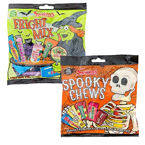 Halloween Trick or Treat Sweets Swizzels Spooky Chews and Swizzels Fright Mix