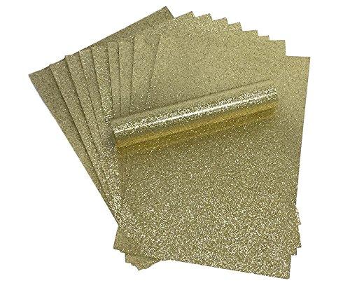 A4 glitterpapier goud soft touch pluisvrije dik 150 gsm papier pak 10 vellen
