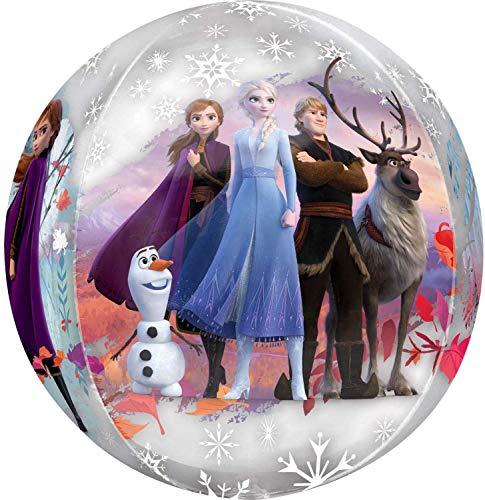 Globo con forma de Orbz con diseño de Frozen 2 de Disney, 1 unidad.