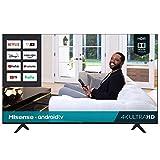 Hisense 75H6570G 75 H65-Series 4K UHD Smart Android TV (Renewed)