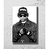 NOVELOVE Wandkunst Bild Eazy E NWA Rapper Sänger Star