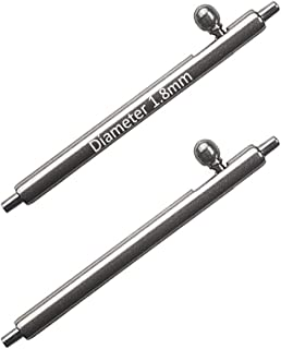 Masar 12 à 26mm Ø 1.5mm 1.8mm Premium INOX 316L Libération Rapide Pompes Barrettes à Ressort à Levier pour Bracelet de Montre