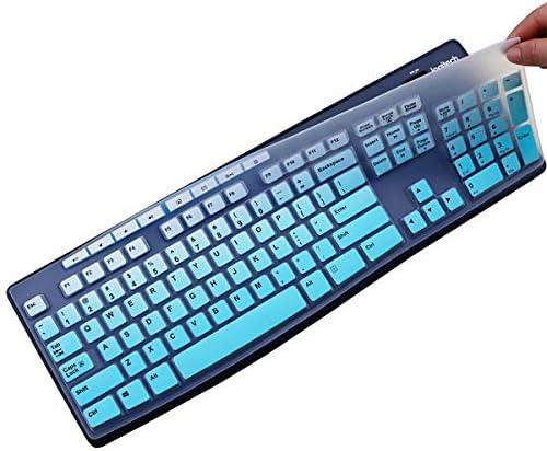 MUBUY Keyboard Cover Skin Protector Fit Logitech MK275 MK270 Wireless Keyboard Logitech K200 product image