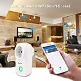 WLAN Steckdose Bagotte Intelligente Smart Wifi...