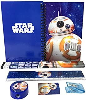 Disney Star Wars The Force Awaken Bb-8 Robot Stationary Kit - Blue
