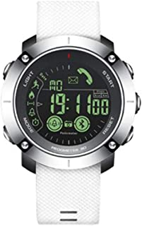 XNNDD Hombres y Mujeres a Prueba de Agua Reloj Deportivo Inteligente Reloj Batería de Larga duración Mensaje de Alarma Recordatorio Reloj Deportivo de Fitness
