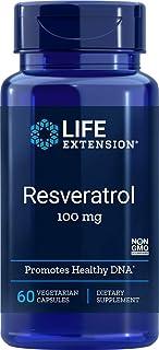Life Extension Resveratrol 100 Mg, 60 Vegetarian Capsules