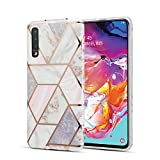 DEFBSC Samsung A40 Marble Case, Marble Design Anti-Scratch