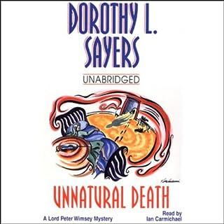 Unnatural Death audiobook cover art