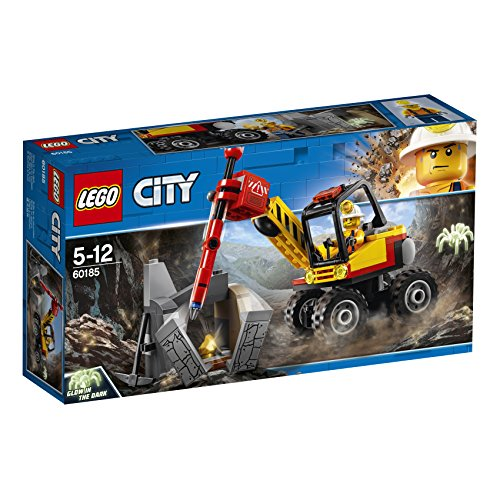 Lego City 60185 Power-Spalter für den Bergbau, Bunt