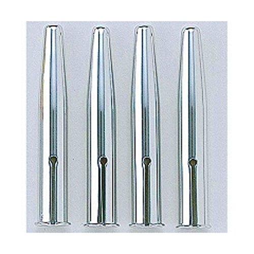 クツワ 鉛筆キャップ(シルバー)4本 『 2 セット 』