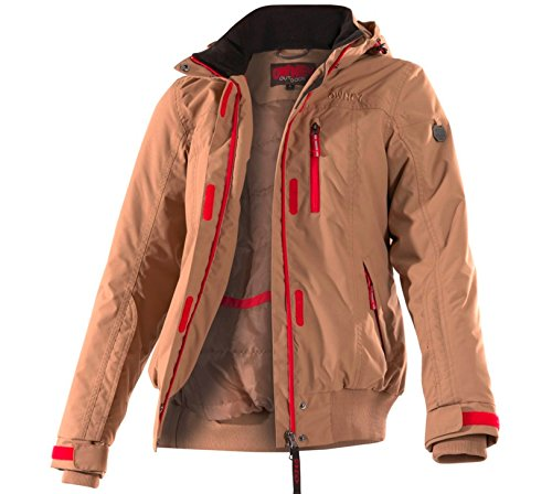 Owney Damen Winterjacke Urban beige Outdoor Jacke Outdoorbekleidung Damen
