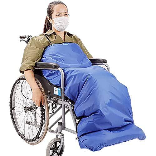 Gpzj Rollstuhldecke Beindecke, Rollstuhldecke Winter Unterkörper Schlupfsack Warm Fußsack, Universal Fit Für Manuell Und Elektrisch Betriebene Rollstühle, Maschinenwaschbar