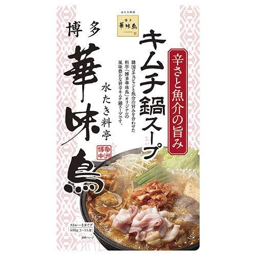 トリゼンフーズ 博多華味鳥 キムチ鍋スープ 600g×12袋入